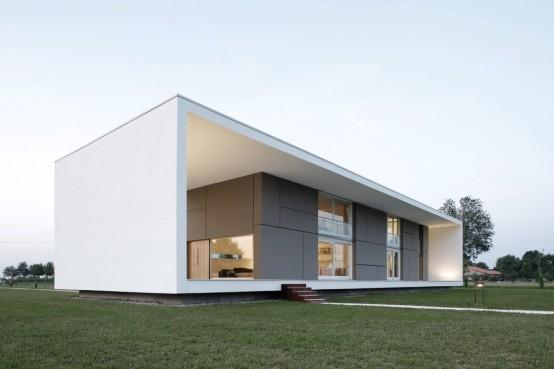 la arquitectura de casas minimalistas es un modelo que se est convirtiendo en una tendencia en la metrpoli la obra de arquitectura de los edificios - Casas Minimalistas