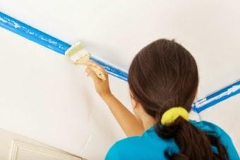 Aprender hacer bricolaje casero - Como pintar el techo ...