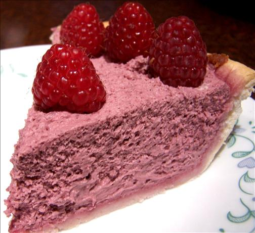 Sasaki Time: Easy Raspberry Cream Cheese Chiffon Pie Recipe!