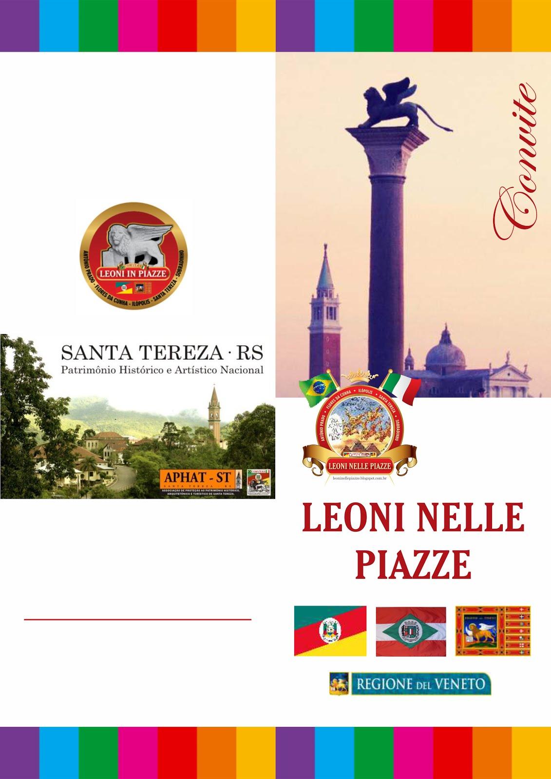 Convite Santa Tereza - Frente