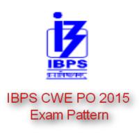 IBPS CWE PO 2015 Exam Pattern