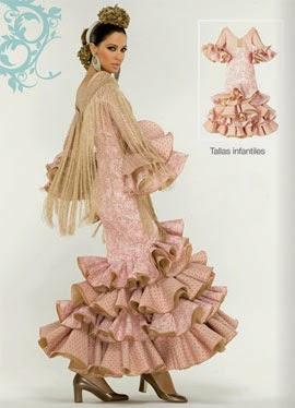 moda flamenca El Corte Inglés traje sevillana niña