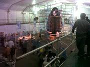 Este lunes 25 de Marzo comieza la transmisión en directo desde la Carpa del . miramar huevo pascua mar