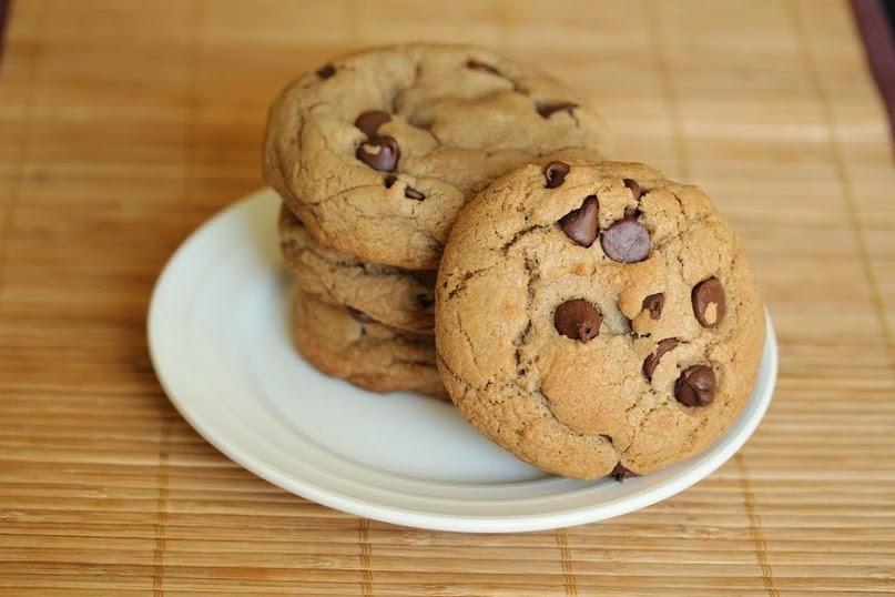 рецепт печенья с шоколадной крошкой в домашних условиях