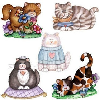 dibujos de gatos para imprimir