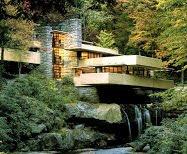"Arquitectura  Funcional Organicista -  ""Casa de la Cascada o Casa Kaufmann"""