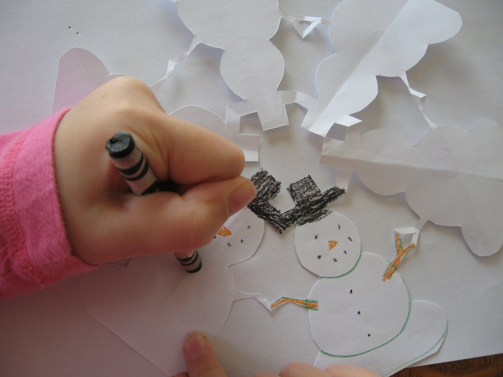 six sided snowflake instructions