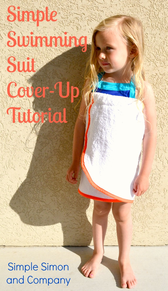 e3411c327e041 Easy Swimming Suit Cover Up Tutorial - Simple Simon and Company
