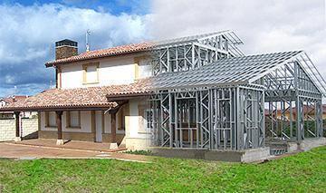 Myt construcciones sistema constructivo metalcon - Construcciones casas prefabricadas ...