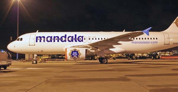 Gambar Pesawat Terbang Mandala Airlines