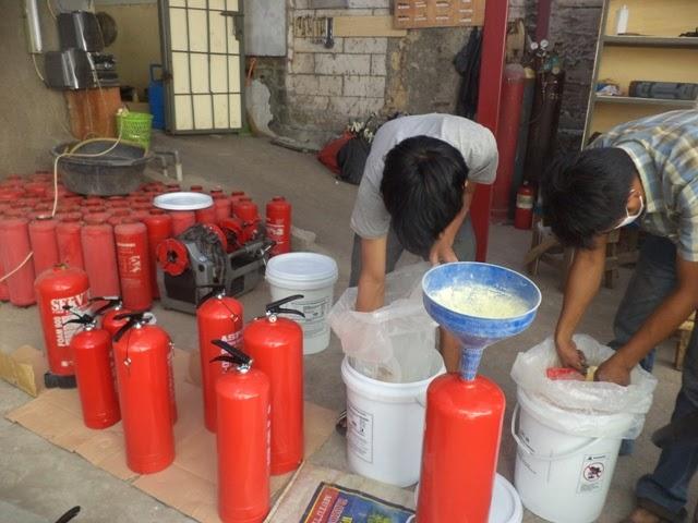 jasa isi ulang tabung pemadam kebakaran