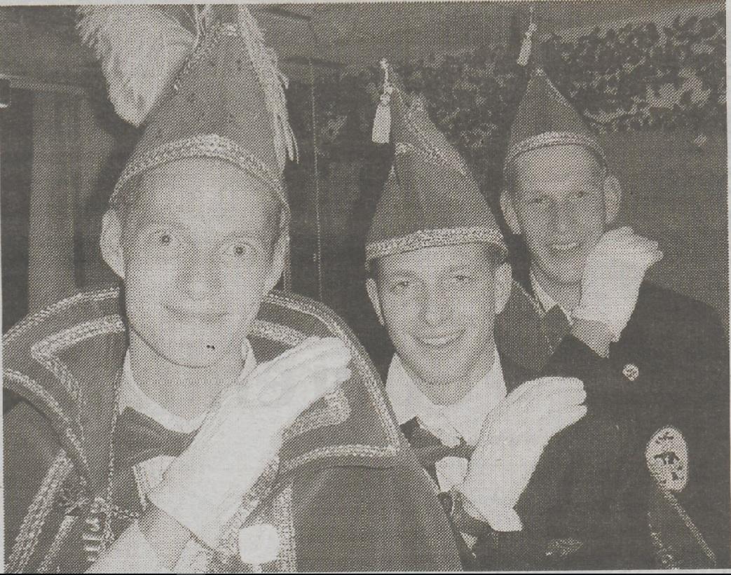 Prins Arnold 2e en Adjudanten Stijn & Patrick 2003/2004: