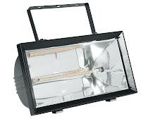 incalzitor cu infrarosu - model de marime medie pentru perete  - 390x220x165 mm 230 V 1300 W