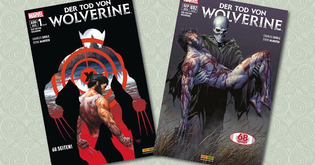 Der Tod von Wolverine Panini Cover