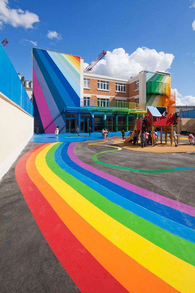 rainbow architecture school