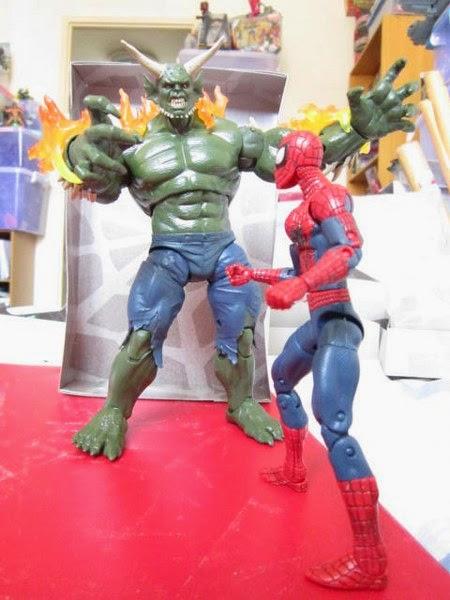 Marvel Legends Infinite Series Wave 1 Amazing Spider-man Ultimate Green Goblin BAF Build a figure loose figure Dr Ock Toxin Spawn Symbiote Carnage Black Cat Spider-girl Boomerang Beetle Electro