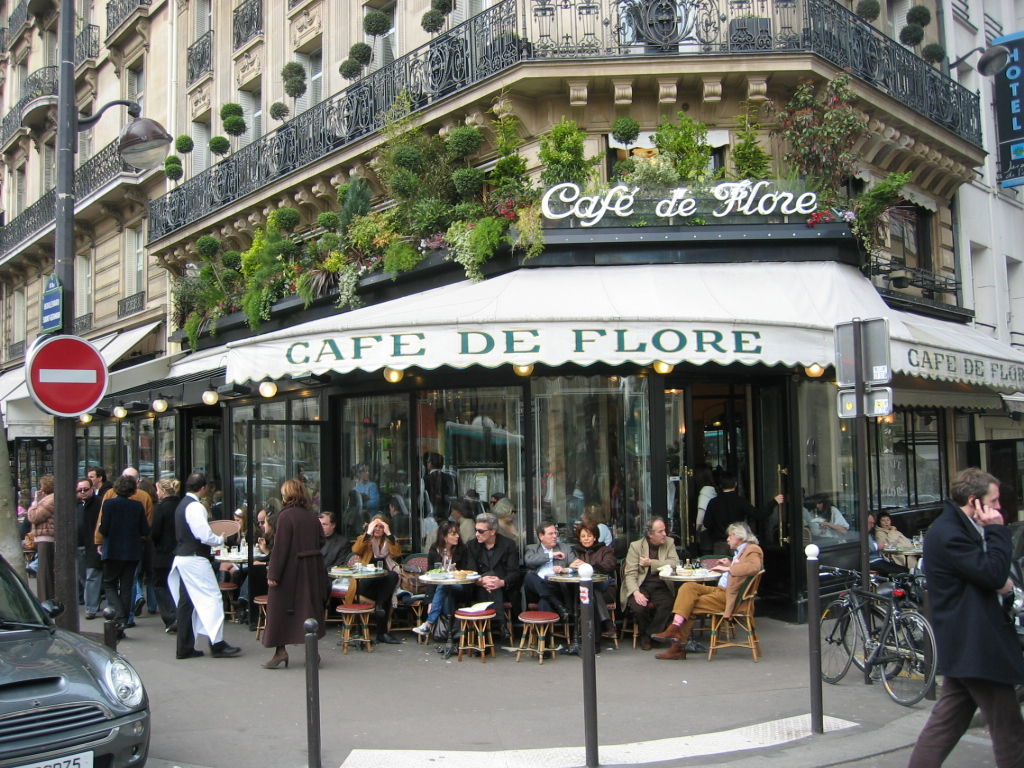 Pa ses ciudades y gastronom a caf de flore par s - The house on the corner contemporary paris ...