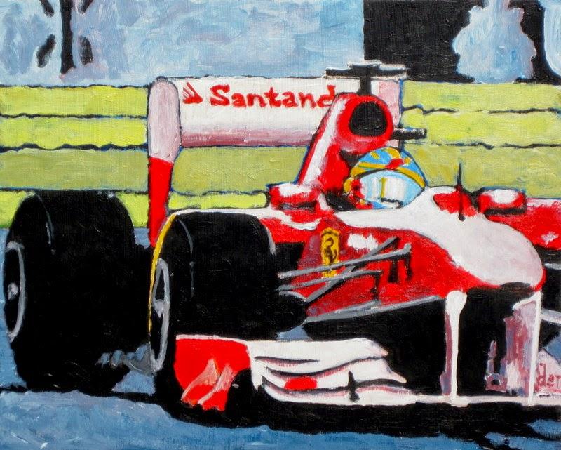 Ferrari | formula 1 | painting
