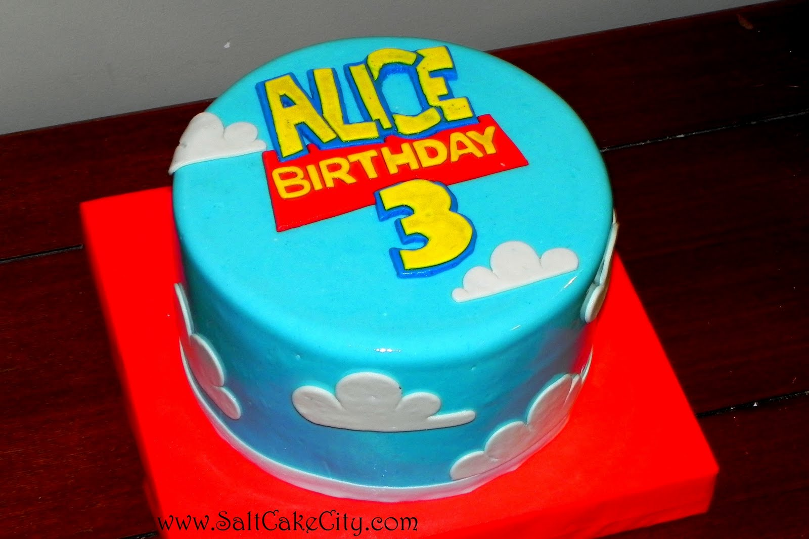 Easy Homemade Toy Story Cakes