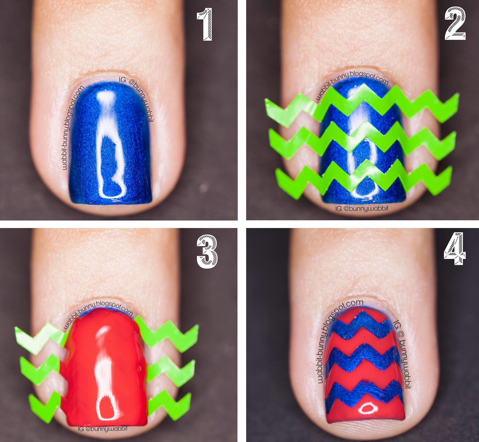 Nail design stencils ~ Beautify themselves with sweet nails