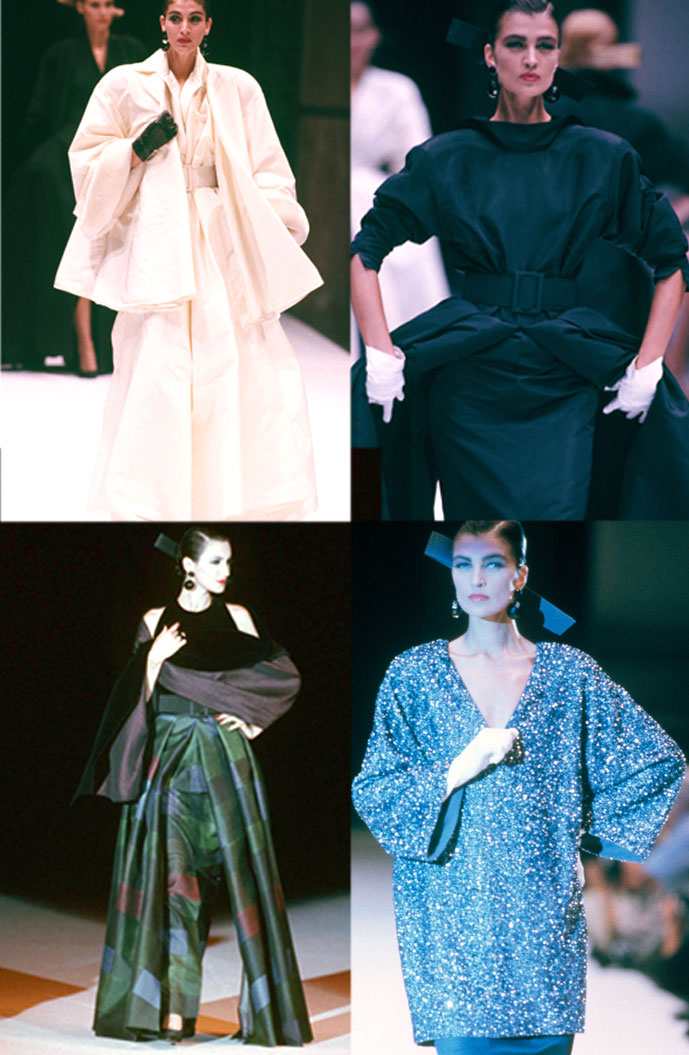 Gianfranco Ferre Fall/Winter 1986 Haute Couture collection