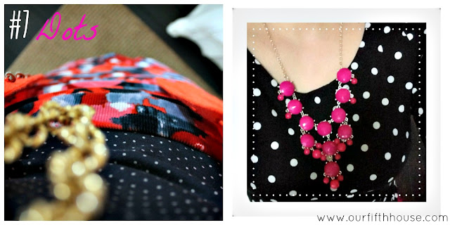 polka dots wardrobe essentials