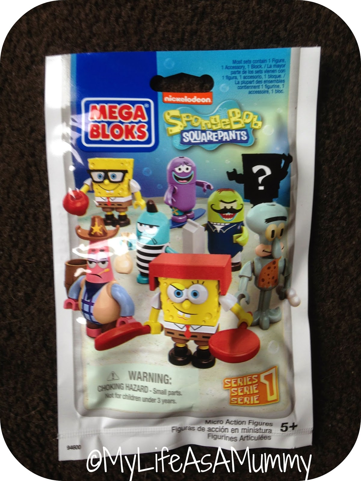 SpongeBob SquarePants Micro Action Figure Packet