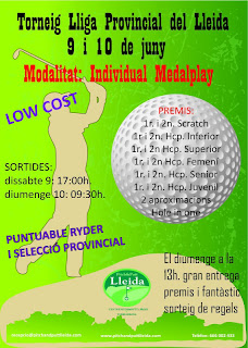 LLiga Provincial Lleida Pitch & Putt