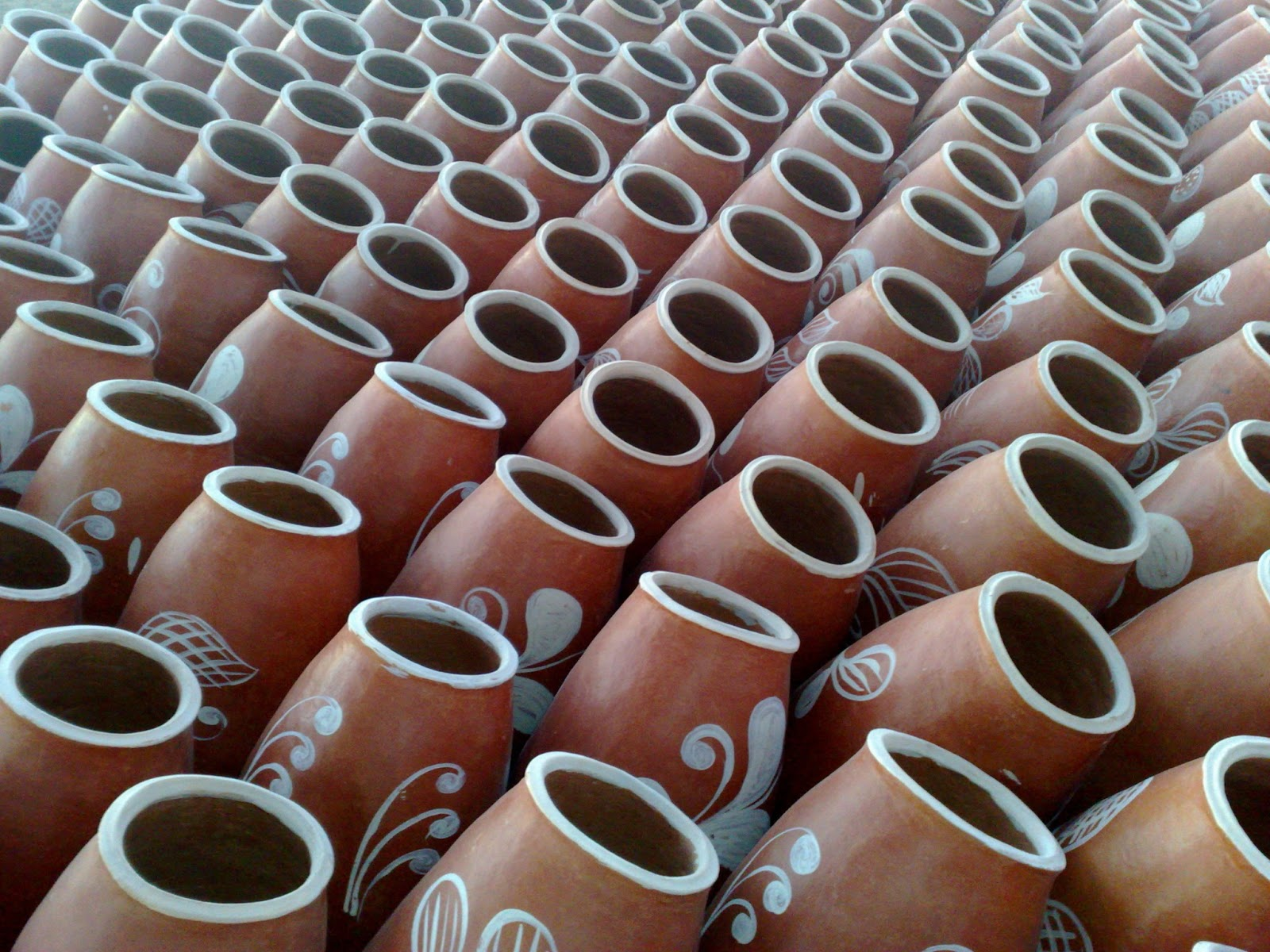 Artesanato Reciclagem Caixa De Leite ~ TV IMAGENS Potes artesanato de Xique Xique