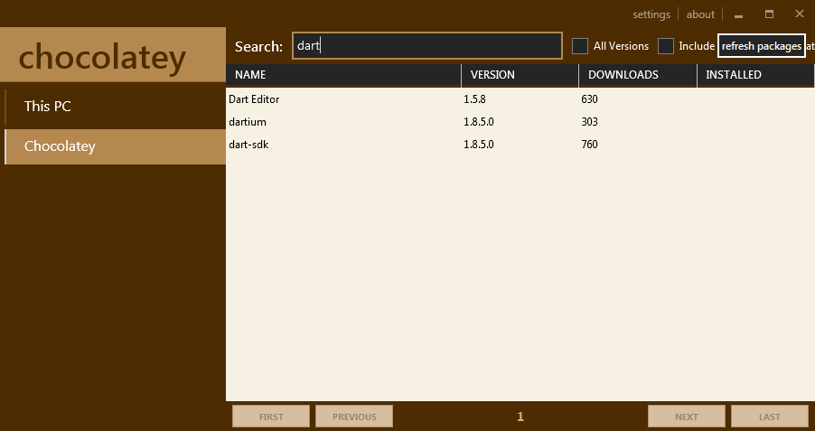 Diving Into Dart: Chocolatey Dart SDK Packages for Windows ...