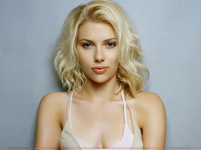 Scarlett Johansson cute wide wallpaper