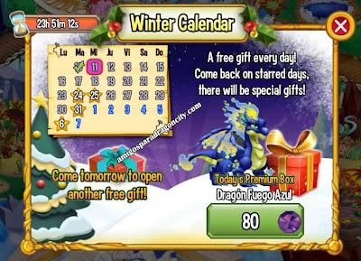 imagen del premium box del dragon fuego azul