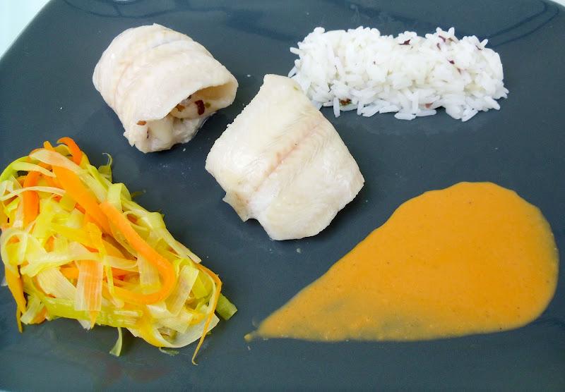 Gourmande ou passionn e sole roul e aux saint jacques - Cuisiner poisson congele ...