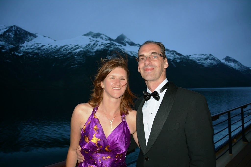 Chilean Fjords formal night
