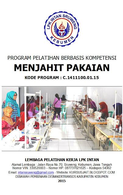 Program Pelatihan Berbasis Kompetensi 2015