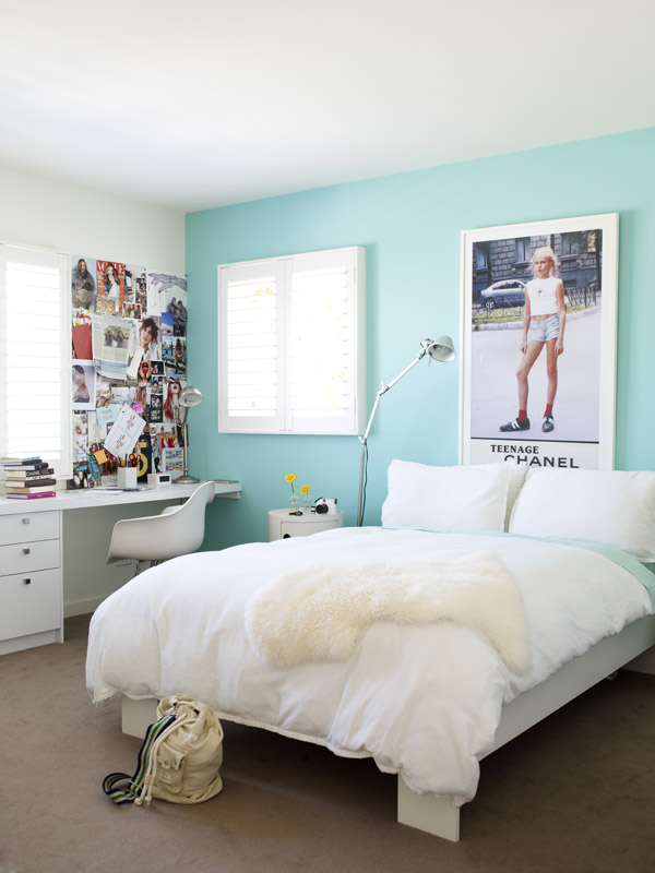 Beautiful south teenage bedroom decor for Bedroom color inspiration pinterest