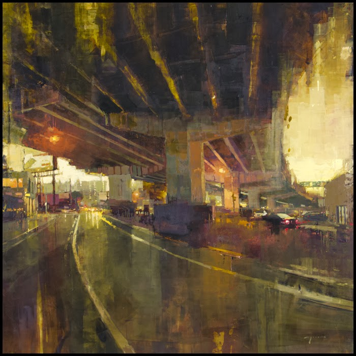 Jeremy Mann Jeremy+Mann+1979+-+American+Impressionist+painter+-Maher+Art+Gallery7