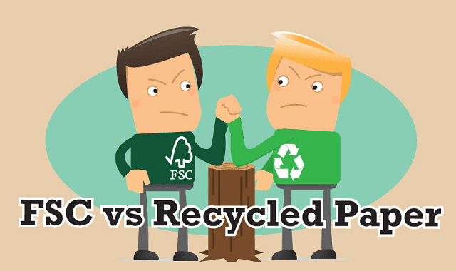 FSC Vs Recycled Paper – The benefits for your business