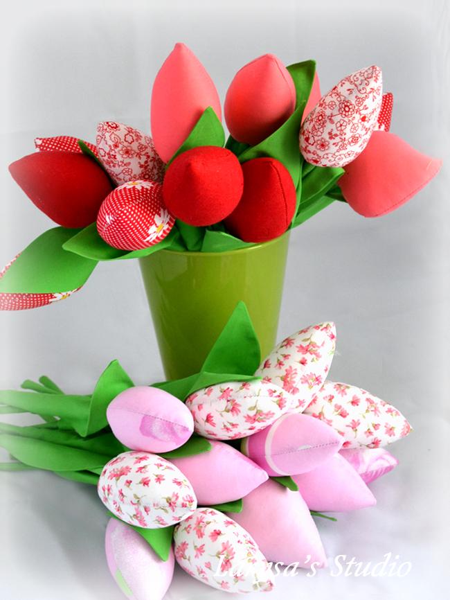 своими руками тюльпаны
