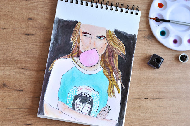 fashion illustration blogger