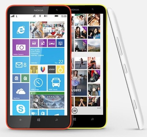 Aggiornamento Nokia Cyan windows phone 8.1 per Lumia 1320 in Italia