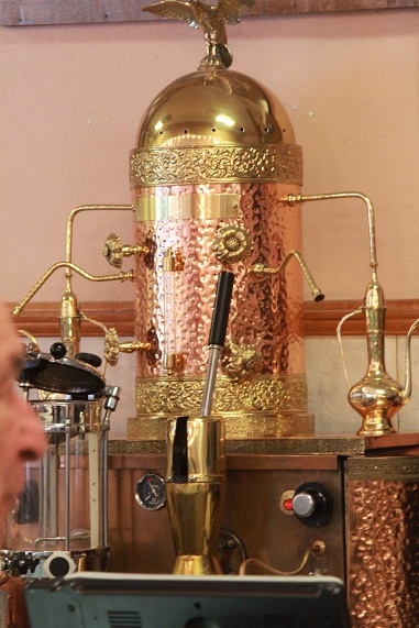 The Espresso Machine At Angelo Brocatos A Thing Of Beauty