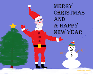 Santa, the Snowman and the Christmas Tree