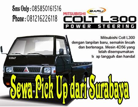 Sewa Pick Up dari Surabaya