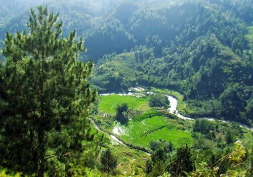 Wisata Alam Sungai Sa'dan Tana Toraja