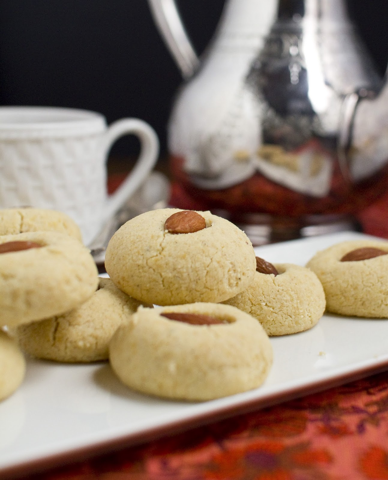 The Colors Of Indian Cooking: Almond Cardamom Cookies 2 Ways, Gluten ...