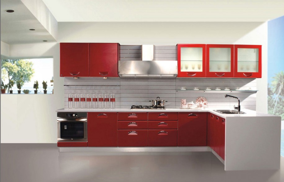 Ruang dapur cantik info desain dapur 2014 for Kitchen colors with white cabinets with papier carte grise