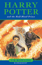 Harry Potter and the Half-Blood Prince by J. K. Rowling book cover