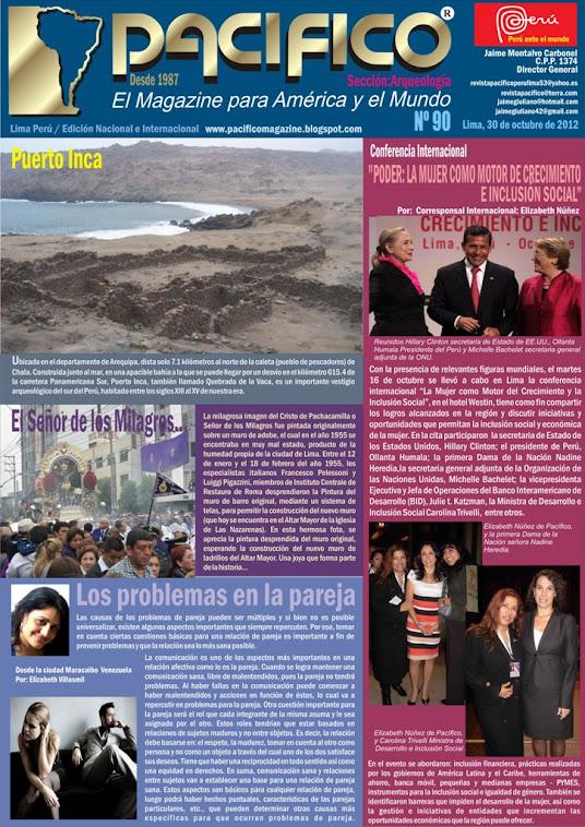 Revista Pacífico Nº 90 Arqueología