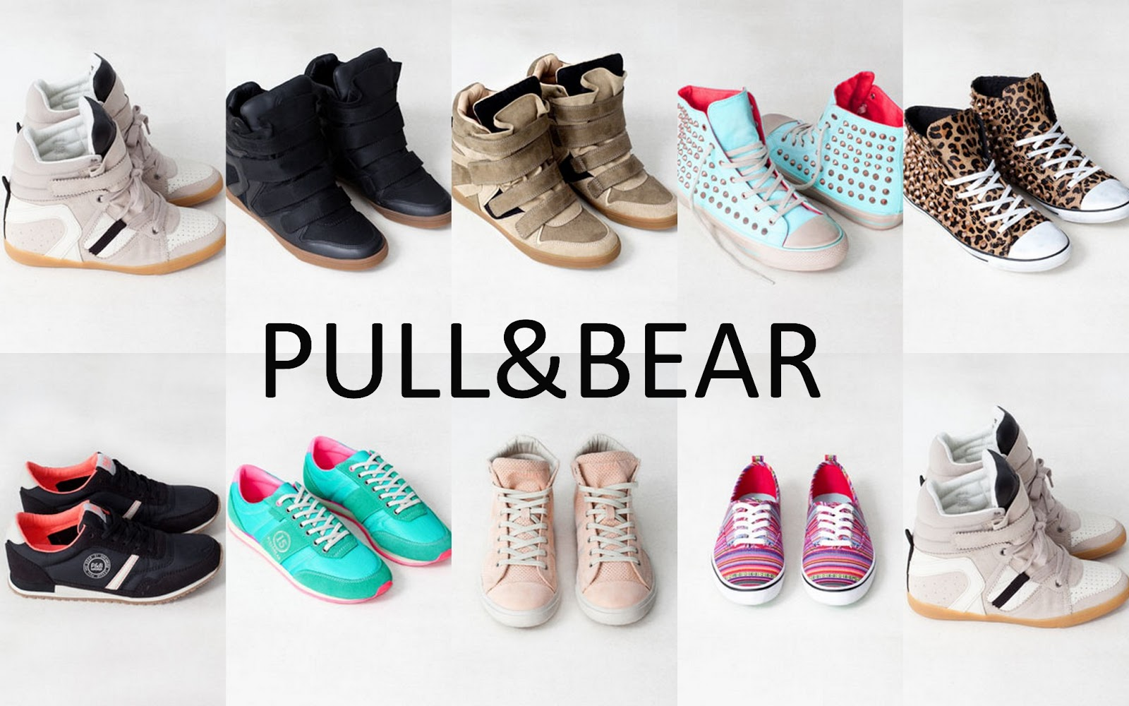 deportivas pull and bear